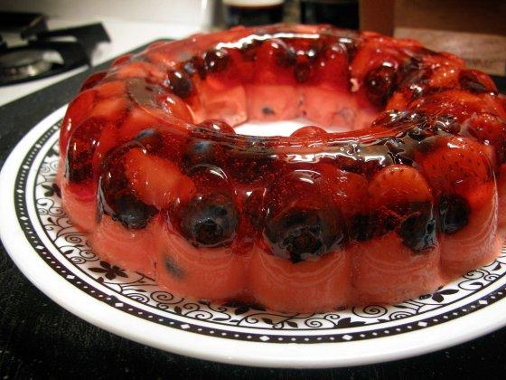 Fruit Parfait Jello