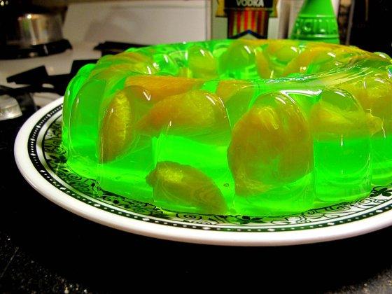 Sparkling Vodka Melon Mold