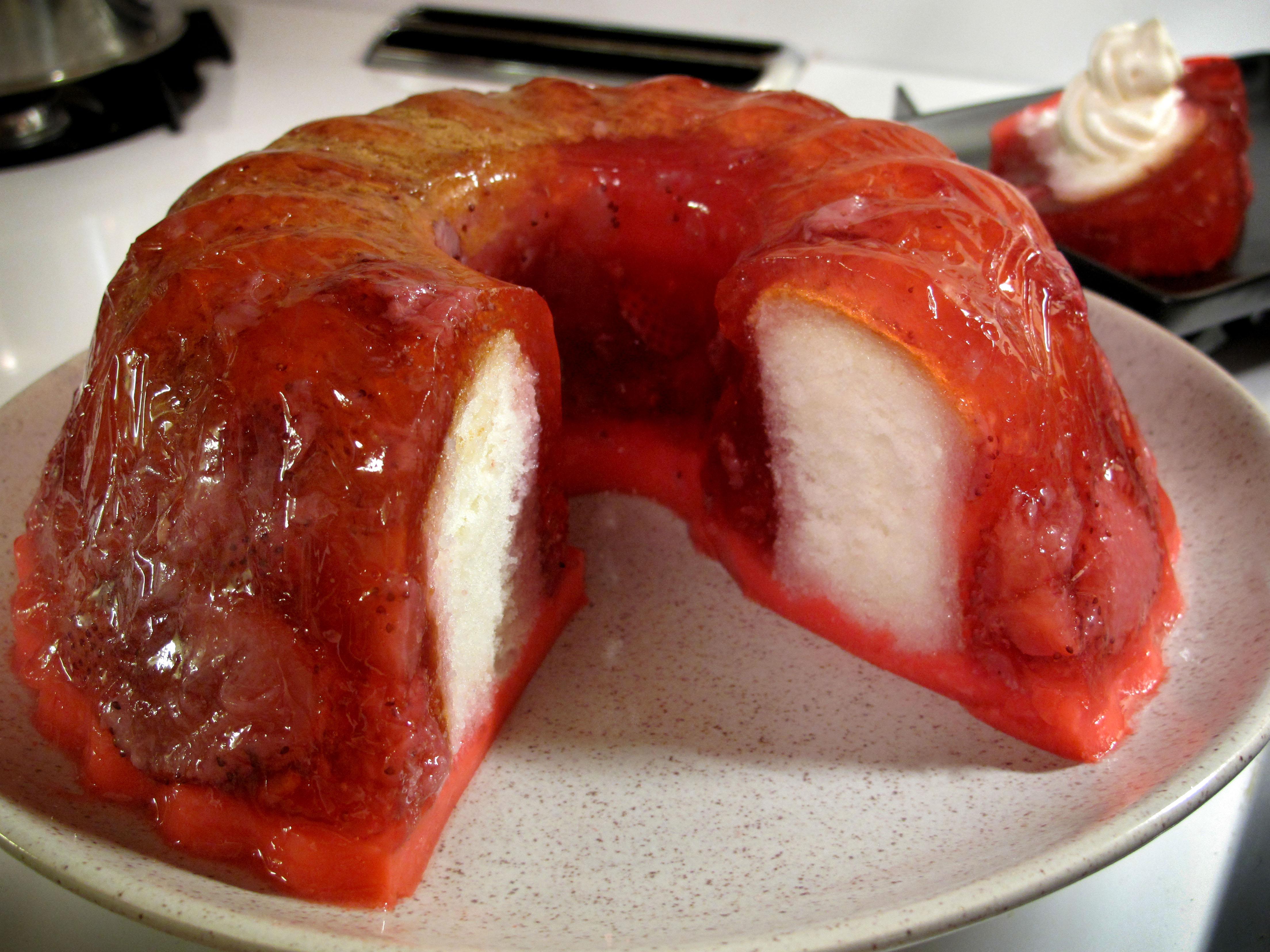 Strawberry Shortcake Jello