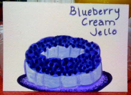Blueberry Cream