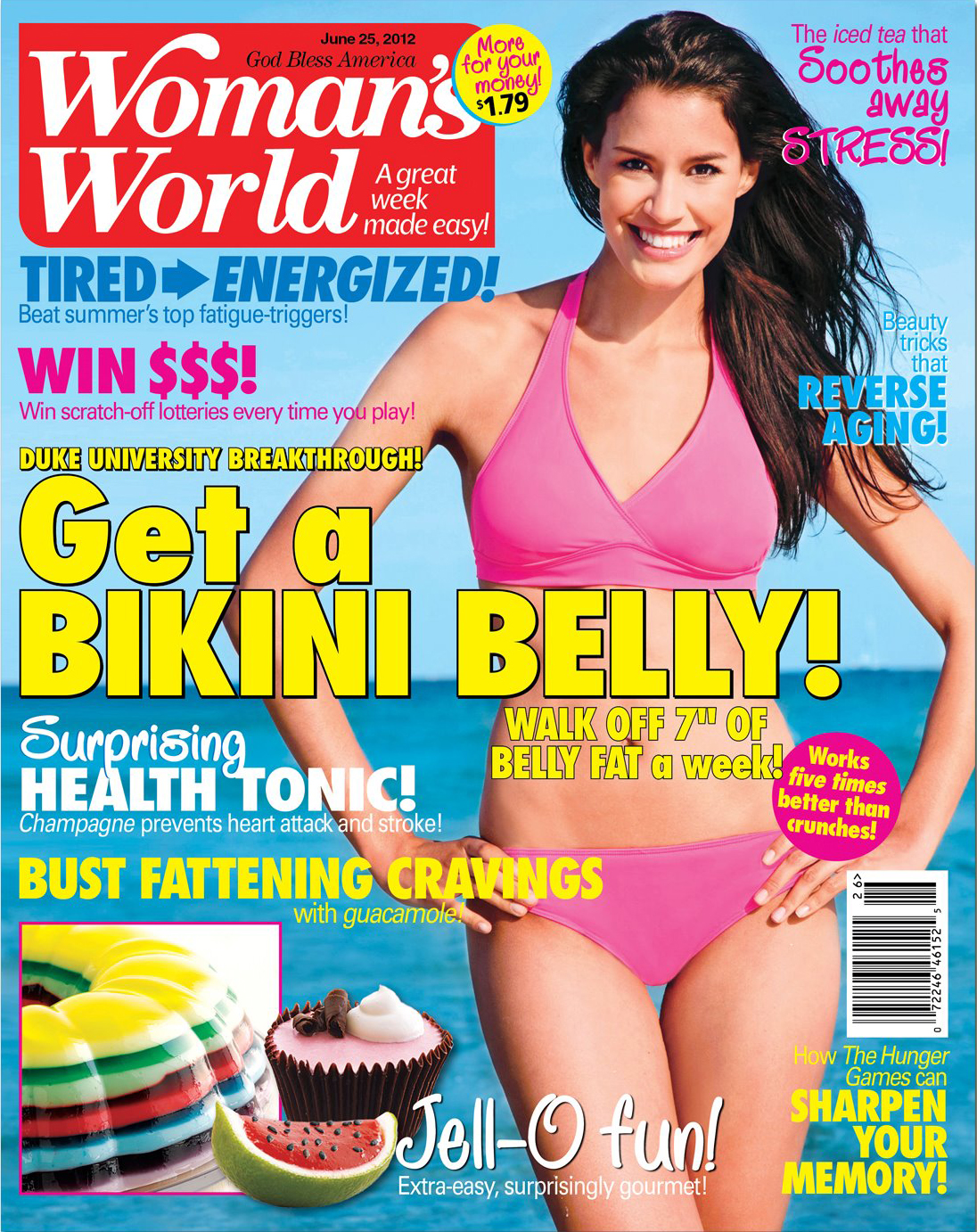 Woman's World Magazine: June 25th 2012.