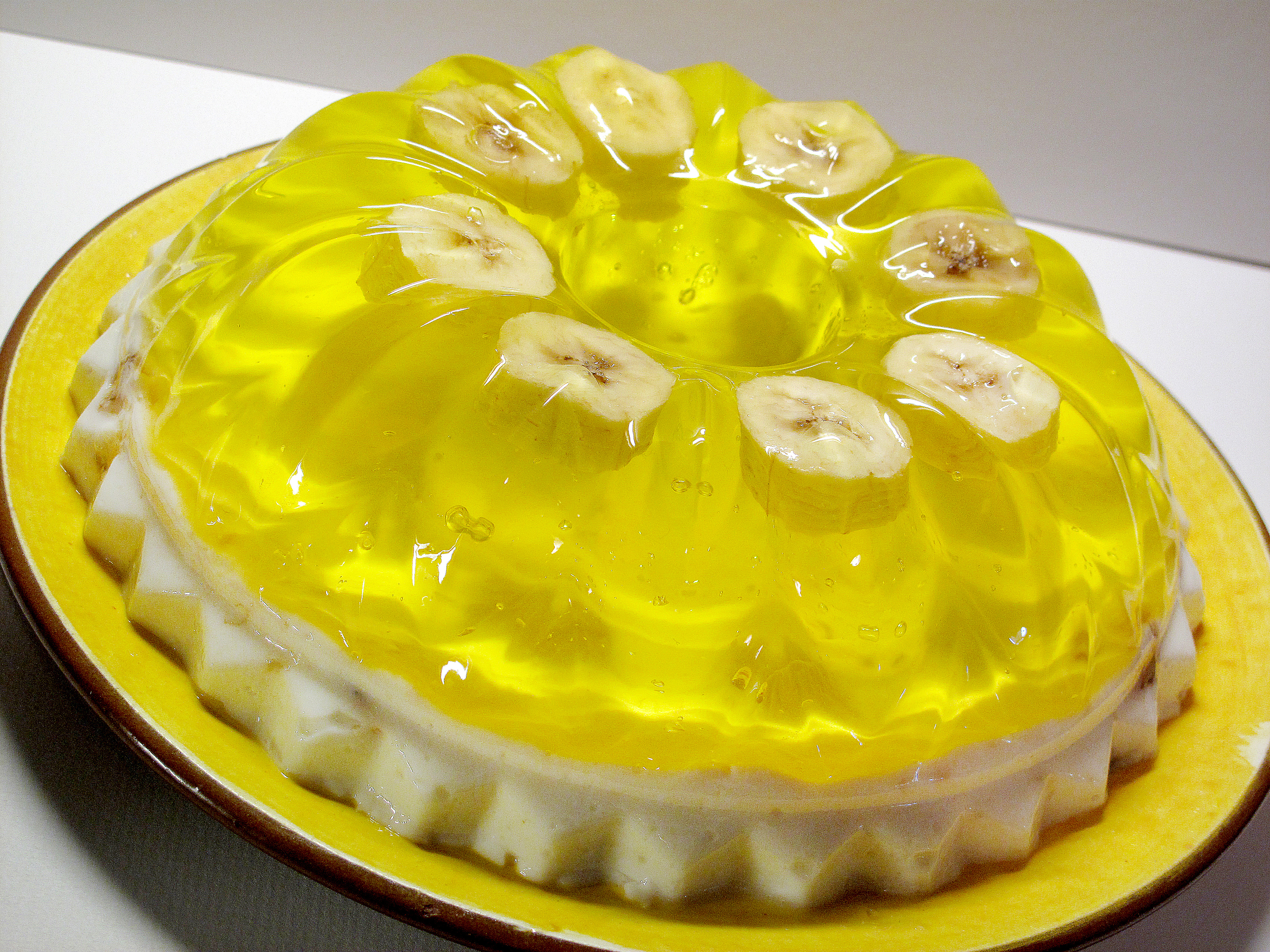 banana jello
