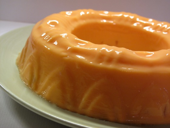Apricot Cream Jello