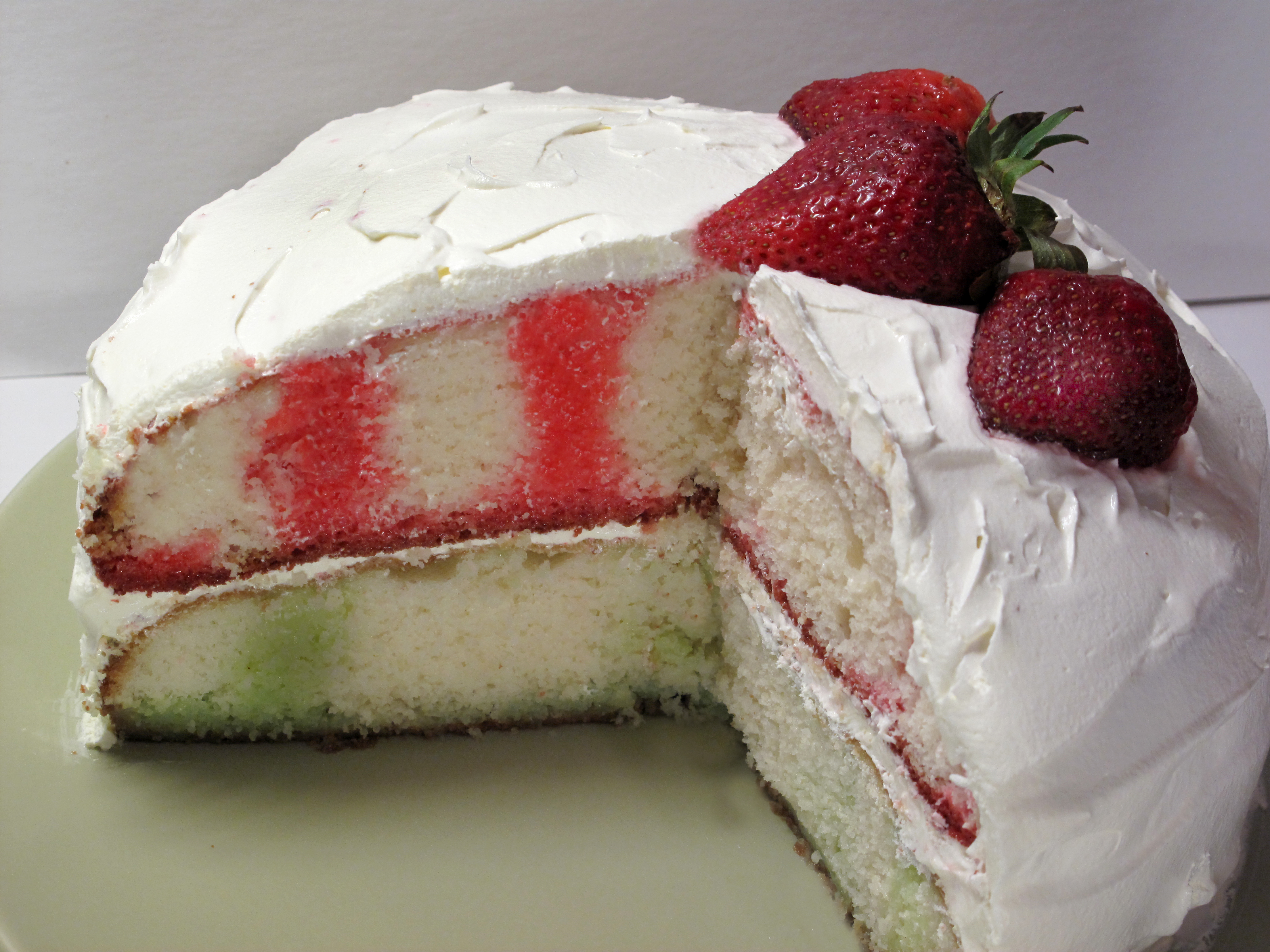Kraft Strawberry Jello Cake