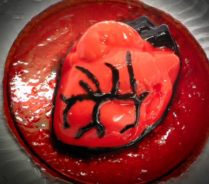 Human Heart Jello