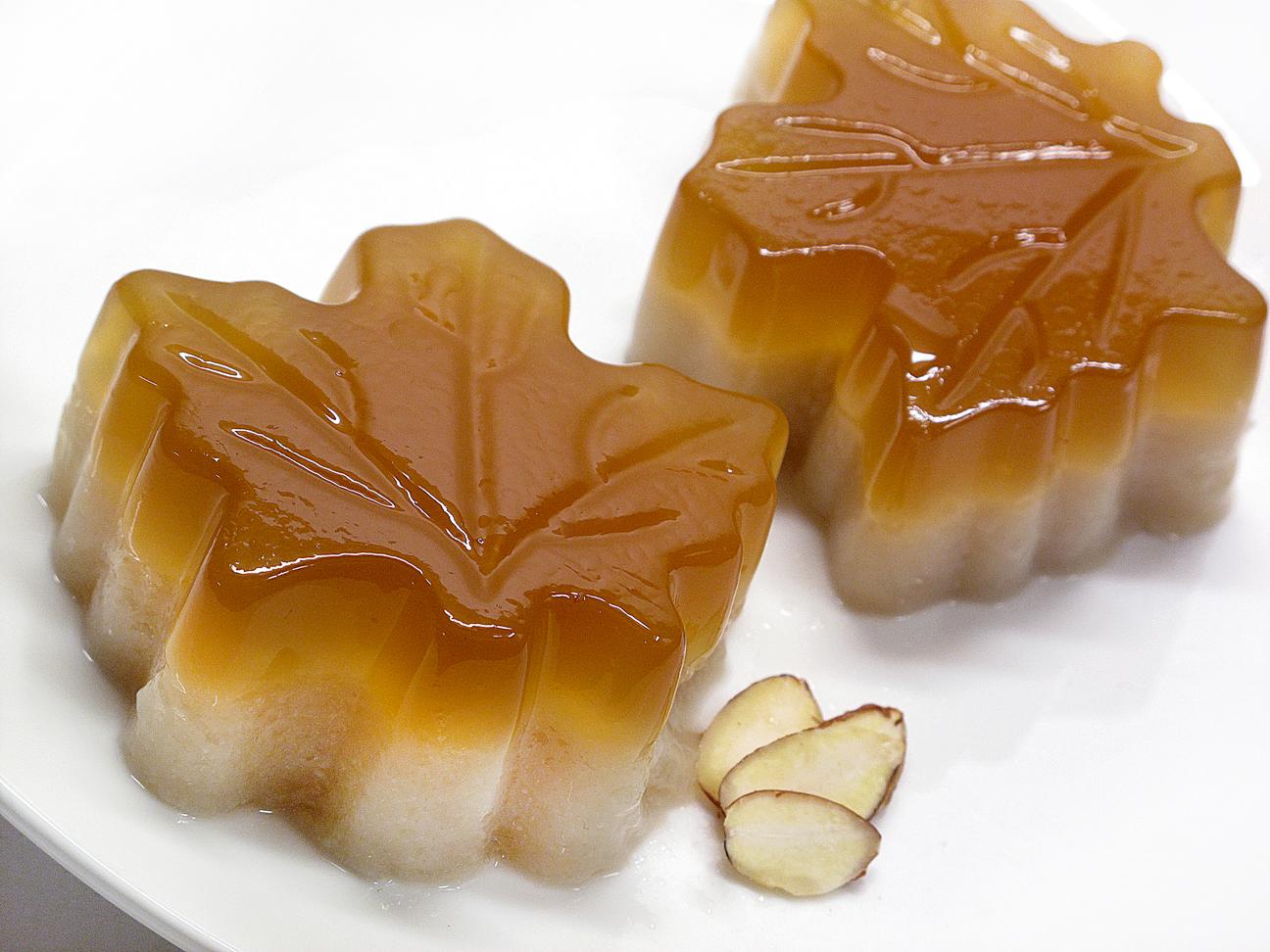 Maple Almond Jello