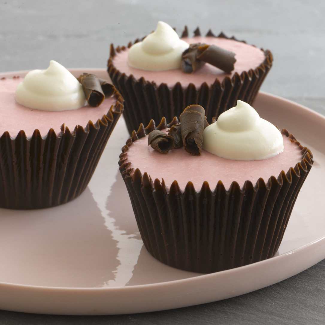 Chocolate Raspberry Mousse Cups