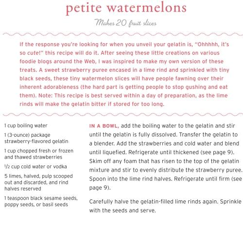 Petite Watermelons | Thư viện bếp