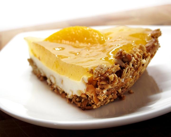 Pretzel Peach Pie -8