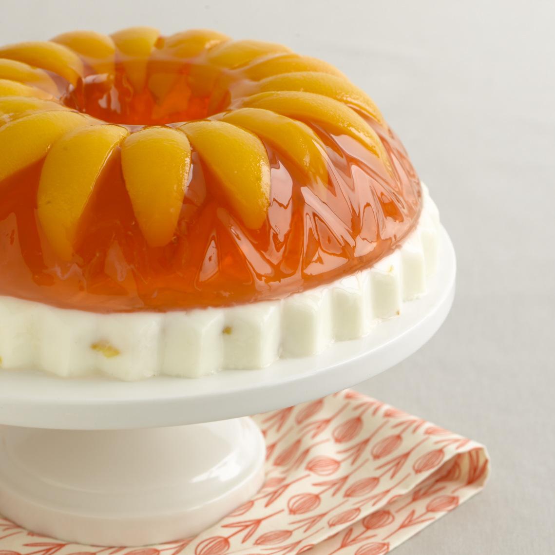 Image Result For Peach Jello Cake Recipe