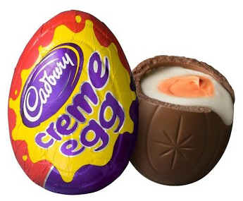 Cadbury Irish Creme Eggs The Jello Mold Mistress