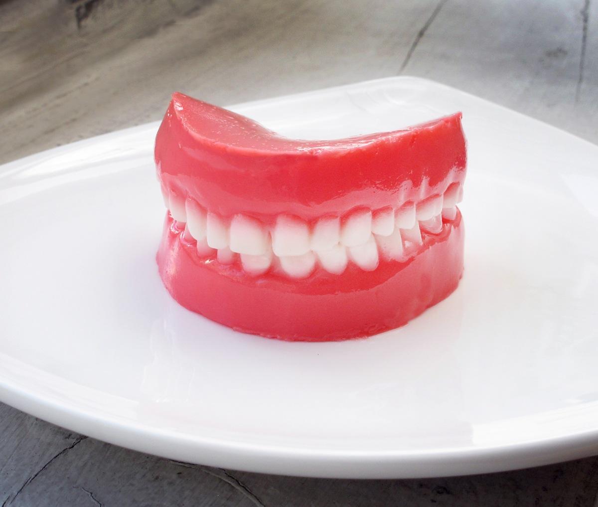Jello False Teeth The Jello Mold Mistress